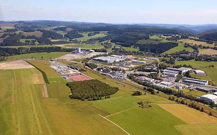 Luftaufnahme Industriepark